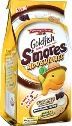 Goldfish S'mores Adventures