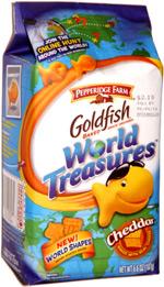 Goldfish World Treasures Cheddar