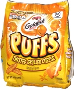 Goldfish Puffs Twisted Grilled Cheese