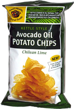 Avocado Oil Potato Chips Chilean Lime