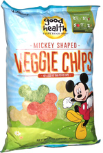 Good Health Mickey Shaped Veggie Chips