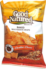 Good Natured Selects Baked Multigrain Crisps Cheddar Cheese