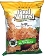 Good Natured Selects Baked Multigrain Crisps Tuscan Garden Medley