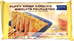 Gourmet Delite Puffy Crisp Cookies