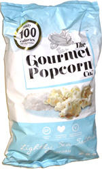The Gourmet Popcorn Co. Lightly Sea Salted Popcorn