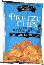 Gourmet Select Pretzel Chips Original Flavor