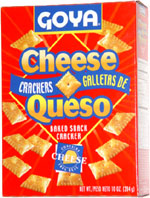 Goya Cheese Crackers Galletas de Queso Baked Snack Cracker