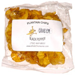 Grab Em Plantain Chips Black Pepper