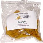 Grab Em Plantain Chips Jalapeno