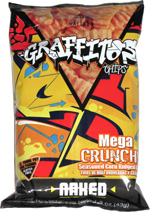 Graffitos Mega Crunchy Naked