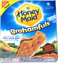 Honey Maid Grahamfuls Peanut Butter & Chocolate