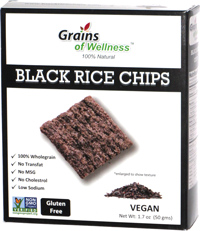 Grains of Wellness Black Rice Chips