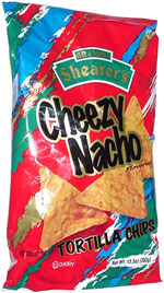 Grandma Shearer's Cheezy Nacho Tortilla Chips