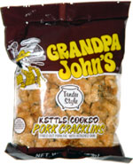 Grandpa John's Kettle Cooked Pork Cracklins