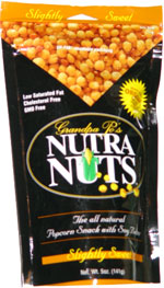 Grandpa Po's Nutra Nuts Slightly Sweet