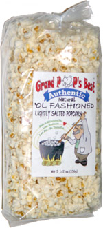 Grand Pop's Best Authentic 'Ol Fashioned Lightly Salted Popcorn