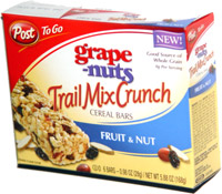 Post To Go Grape-Nuts Trail Mix Crunch Fruit & Nut