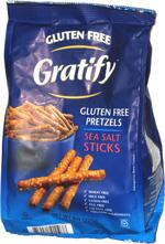 Gratify Gluten Free Pretzels Sea Salt Sticks