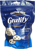 Gratify Gluten Free Pretzels Yogurt Covered Twists