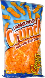 Great Value Cheddar Cheese Crunch