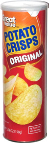 Great Value Potato Crisps Original
