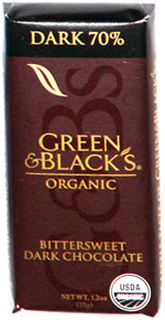 Green & Black's Organic Bittersweet Dark Chocolate