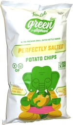 The Green Elephant Perfectly Salted Potato Chips