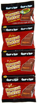 Palmer Grip 'n' Rip Peanut Butter in a Chocolaty Shell