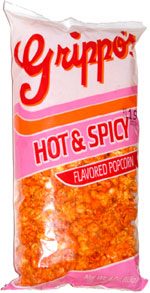 Grippo's Hot & Spicy Flavored Popcorn