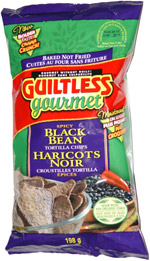 Guiltless Gourmet Spicy Black Bean Tortilla Chips