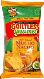 Guiltless Gourmet Mucho Nacho Tortilla Chips
