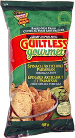 Guiltless Gourmet Spinach Artichoke Parmesan Tortilla Chips