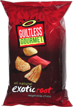 Guiltless Gourmet Exotic Root Vegetable Chips