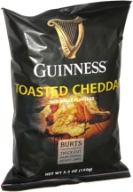 Guinness Toasted Cheddar Thick Cut Hand Cooked Potato Chips