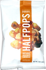 Halfpops Natural Aged White Cheddar