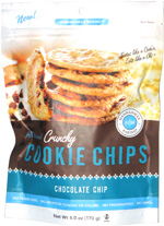 Crunchy Cookie Chips Chocolate Chip