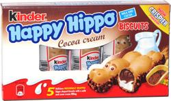 Happy Hippo Cocoa Cream Biscuits