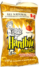 Hardbite Potato Chips Himalayan Crystallized Salt