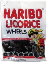 Haribo Licorice Wheels