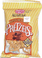 Harry's All Natural Honey Mustard Pretzels