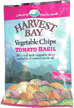Harvest Bay Vegetable Chips Tomato Basil