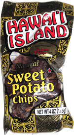 Hawai'i Island Natural Sweet Potato Chips