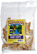Hawaiian Chip Company Zesty Garlic Taro Chips