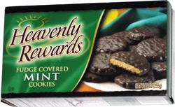 Heavenly Rewards Fudge Covered Mint Cookies