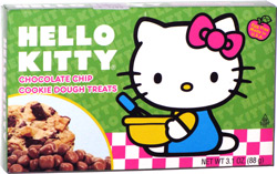 Hello Kitty Chocolate Chip Cookie Dough Treats