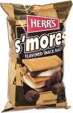 Herr's S'mores Flavored Snack Balls