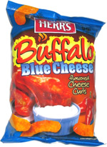 Herr's Buffalo Blue Cheese Flavored Cheese Curls