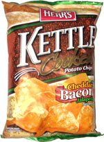 Herr's Kettle Cooked Potato Chips Cheddar Bacon Jalapeño