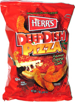 Herr's Deep Dish Pizza Flavored Cheese Curls