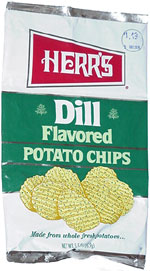 Herr's Dill Flavored Potato Chips